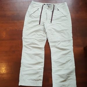Eddie Bauer Zip to Shorts Water Repellant Pants